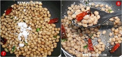 Peanut Sundal Recipe Steps4