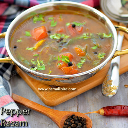 Pepper Rasam Recipe | Milagu Rasam Recipe