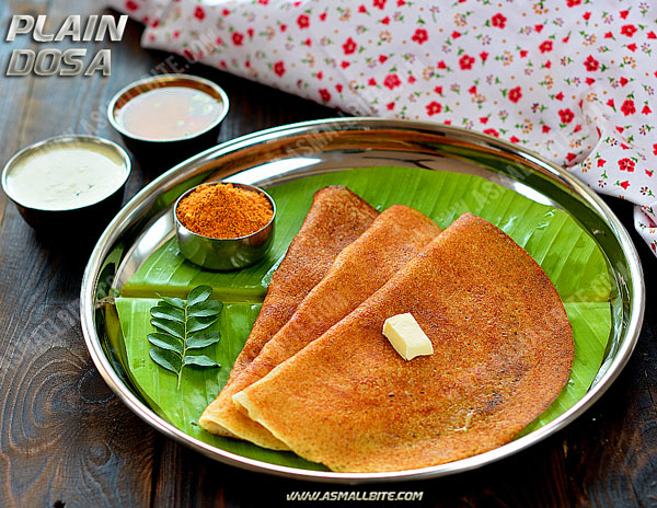 Plain Dosa Recipe 1