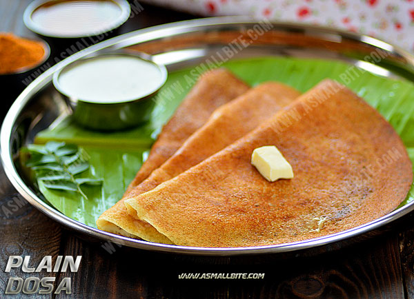 Plain dosa recipe dosa batter in mixie asmallbite plain dosa recipe forumfinder Gallery