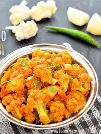Aloo Gobi Recipe | Potato Cauliflower Fry