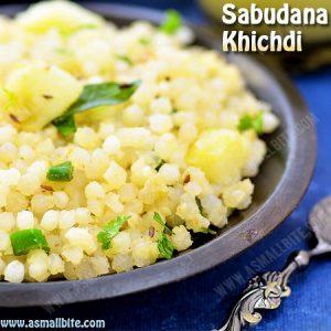 Sabudana Khichdi Recipe 1