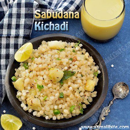 Sabudana Khichdi Recipe | How to make Sabudana Khichdi