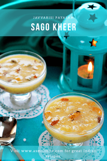 Sago Kheer