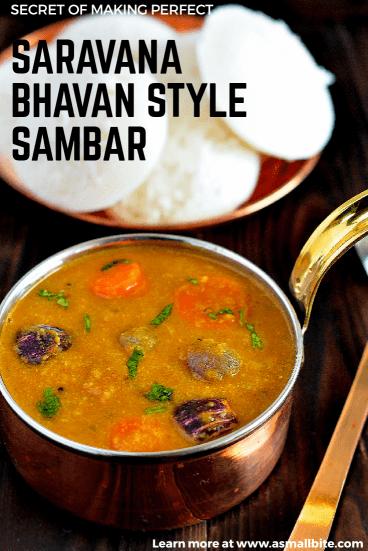 Saravana Bhavan Style Sambar