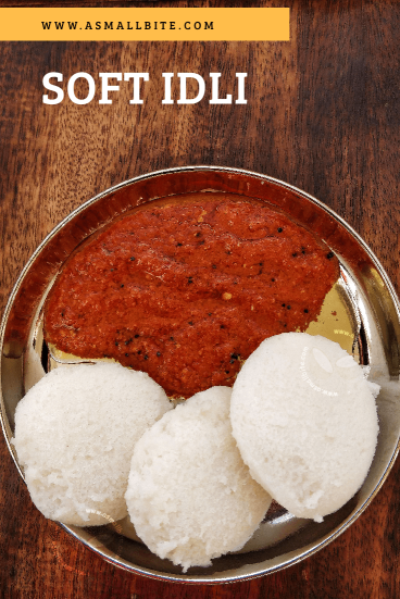 Soft Idli for Diwali