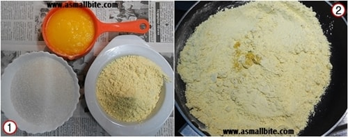 Soft Mysore Pak Recipe Steps1