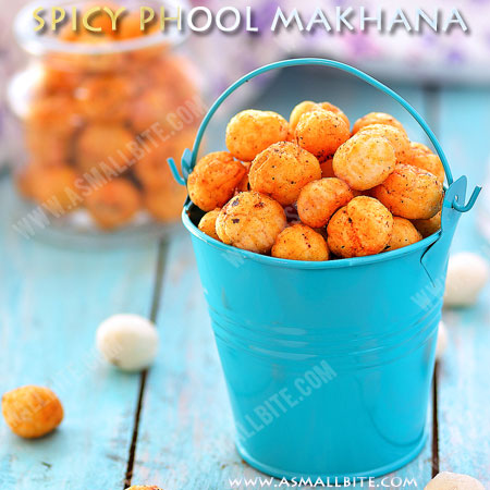Roasted Phool Makhana | Spicy Phool Makhana Recipe