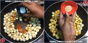 Spicy Phool Makhana Recipe Steps4