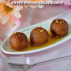Sweet Potato Gulab Jamun Navratri Recipes