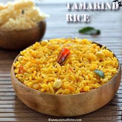Tamarind-Rice-Navratri-Recipes