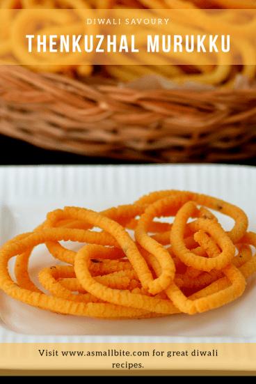 Thenkuzhal Diwali Snack