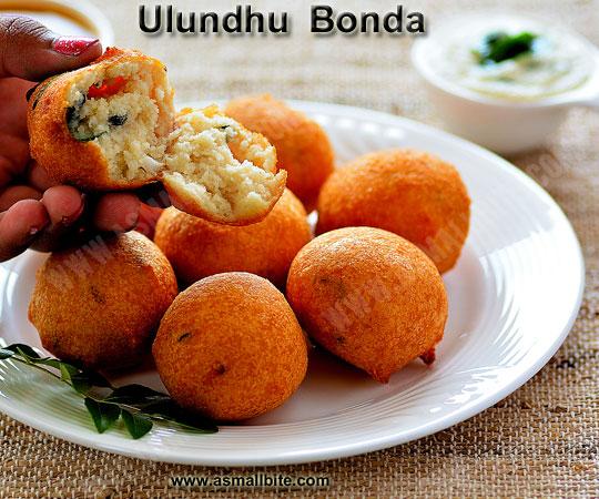 Ulundhu Bonda Recipe 1