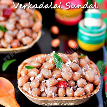 Verkadalai Sundal Recipe