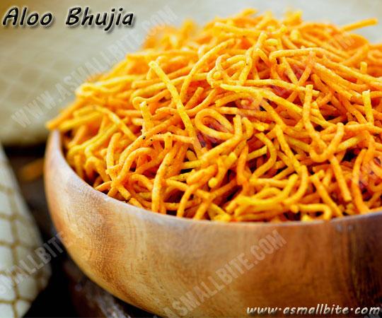 Aloo Bhujia Recipe 2