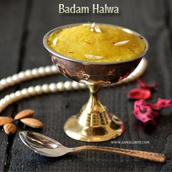 Badam Halwa Diwali Recipes