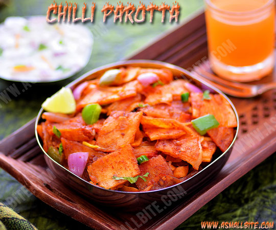 Chilli Parotta Recipe 1