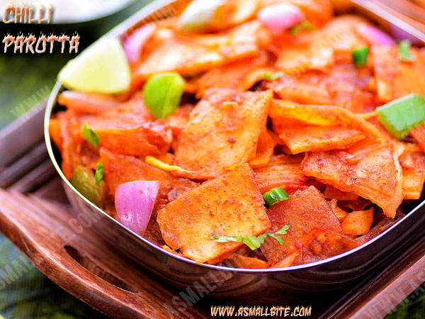 Chilli Parotta Recipe 2