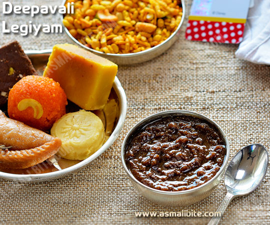 Deepavali Legiyam Recipe
