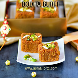 Dodha Burfi Diwali Recipes