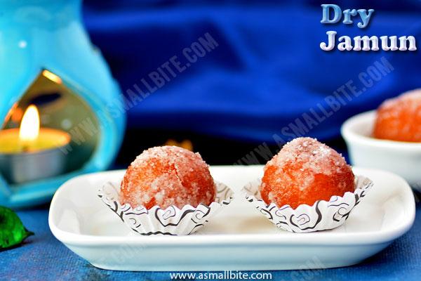 Dry Gulab Jamun Recipe 1