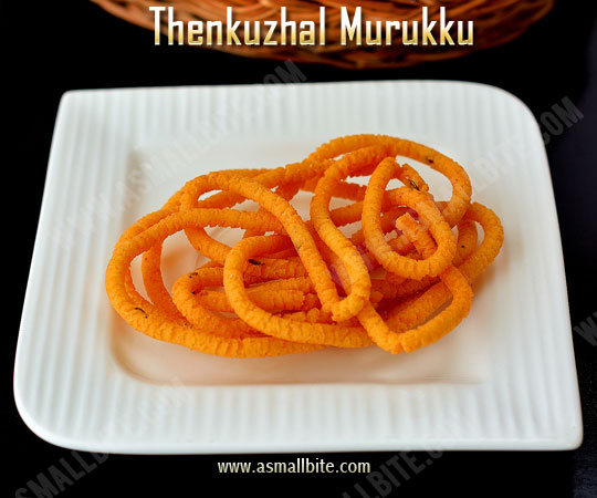 Easy Thenkuzhal Recipe 1