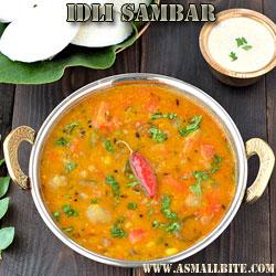 Idli Sambar Diwali Recipes
