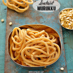 Instant Murukku Diwali Snacks Recipes