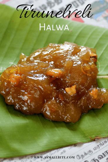 Tirunelveli Halwa Deepavali Sweets in Tamil