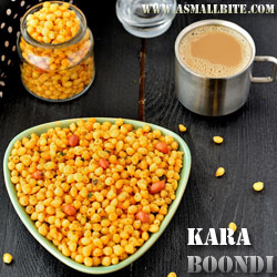 Kara Boondi Diwali Recipes
