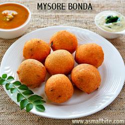 Mysore Bonda Diwali Recipes