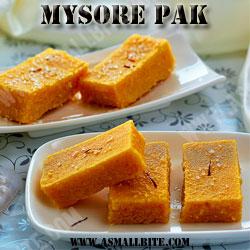 Mysore Pak Diwali Recipes