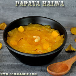 Papaya Halwa Diwali Recipes