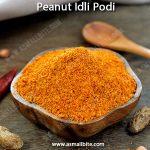 Groundnut Idli Podi Recipe | Verkadalai Podi Recipe