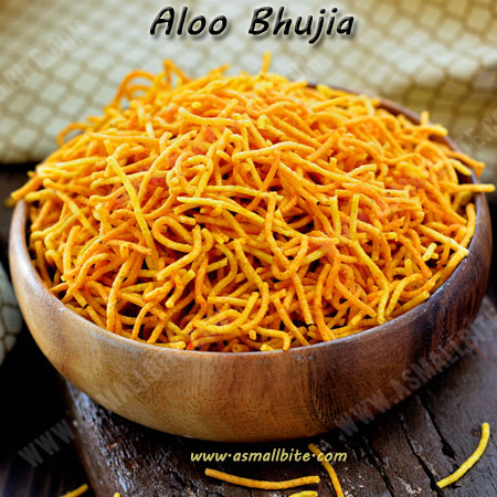 Aloo Bhujia Recipe | Potato Sev Recipe