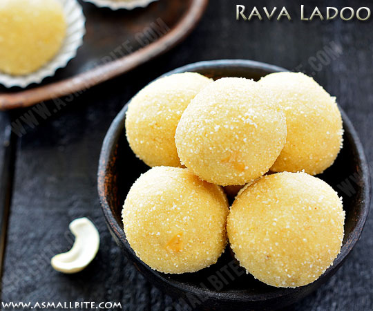 Rava Ladoo Recipe 1