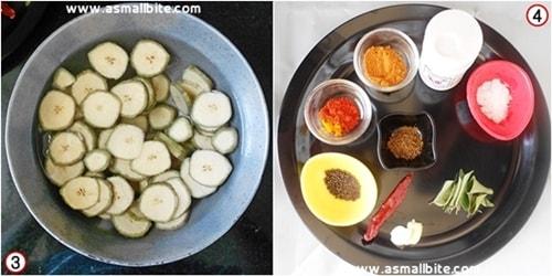 Raw Banana Fry Recipe Steps2