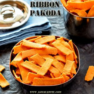 Ribbon Pakoda Recipe
