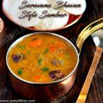 Saravana Bhavan Style Sambar Recipe