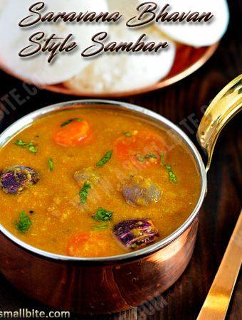 Saravana Bhavan Style Sambar Recipe | Hotel Sambar