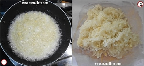 Thengai Burfi Recipe Steps6