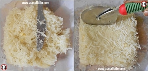 Thengai Burfi Recipe Steps7