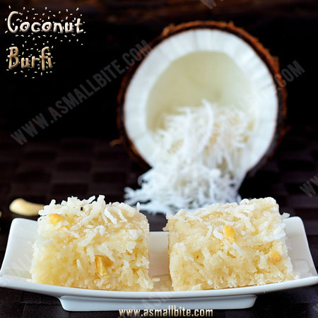 Thengai Burfi Recipe