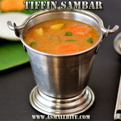 Tiffin Sambar Diwali Food menu