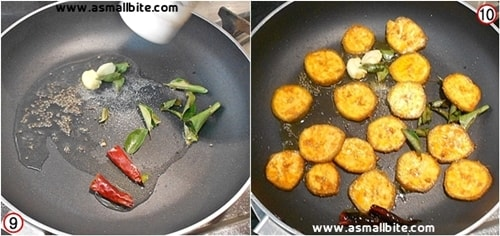 Vazhakkai Fry Recipe Steps5