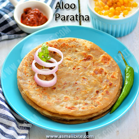 Aloo Paratha Recipe 1