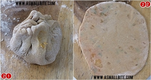 Aloo Paratha Recipe Steps11