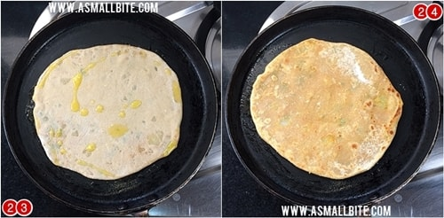 Aloo Paratha Recipe Steps12