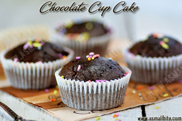 Eggless Chocolate Cupcakes Recipe 3