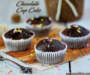 Eggless Chocolate Cupcakes Recipe 4